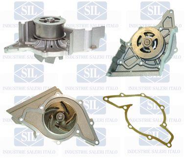 SALERI SIL PA665P   Насос водяной Audi 80/100/A6/A8 2.6-2.8 V6 91>   Купить в интернет-магазине Макс-Плюс: Автозапчасти в наличии и под заказ