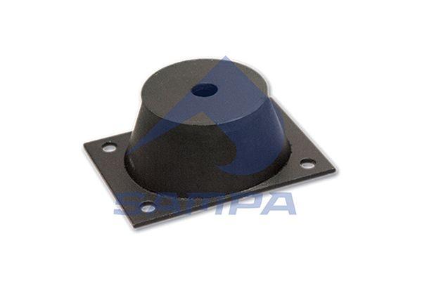 SAMPA 030080 | Подушка крепления КПП Volvo F10,12 | Купить в интернет-магазине Макс-Плюс: Автозапчасти в наличии и под заказ