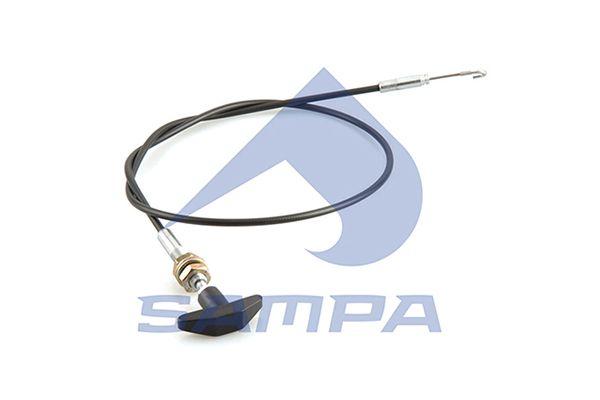 SAMPA 051051 | Трос дверного замка | Купить в интернет-магазине Макс-Плюс: Автозапчасти в наличии и под заказ