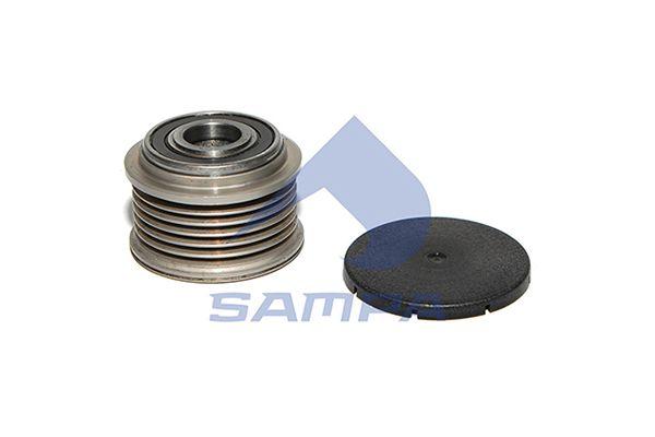 SAMPA 201251 | Шкив генератора | Купить в интернет-магазине Макс-Плюс: Автозапчасти в наличии и под заказ