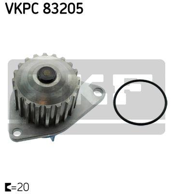 SKF VKPC83205 | Водяная помпа | Купить в интернет-магазине Макс-Плюс: Автозапчасти в наличии и под заказ