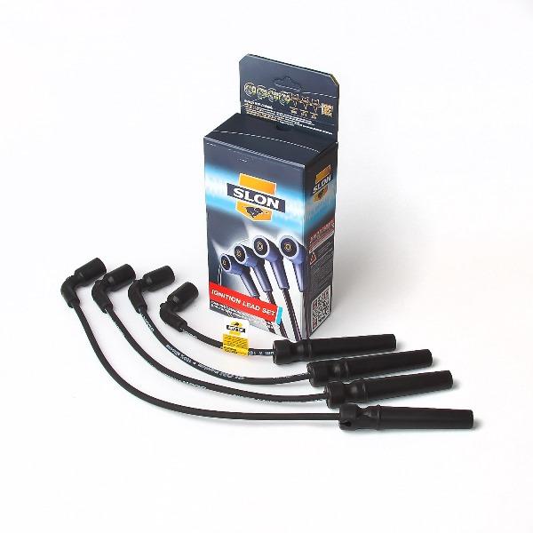 SLON SLN004 | Комплект высоковольтных проводов DAEWOO: Nexia (II поколение, c 2008г), Nubira - c двигателями DOHC | Купить в интернет-магазине Макс-Плюс: Автозапчасти в наличии и под заказ