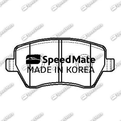 SPEEDMATE SMBPJ027 | Колодки RENAULT DUSTER (HSA/M) (1,6)/LADA LARGUS | Купить в интернет-магазине Макс-Плюс: Автозапчасти в наличии и под заказ