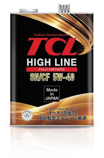 TCL H0040540   Масло моторное TCL HIGH LINE 5W40 (Синтетика, API SN/CF) 4L   Купить в интернет-магазине Макс-Плюс: Автозапчасти в наличии и под заказ