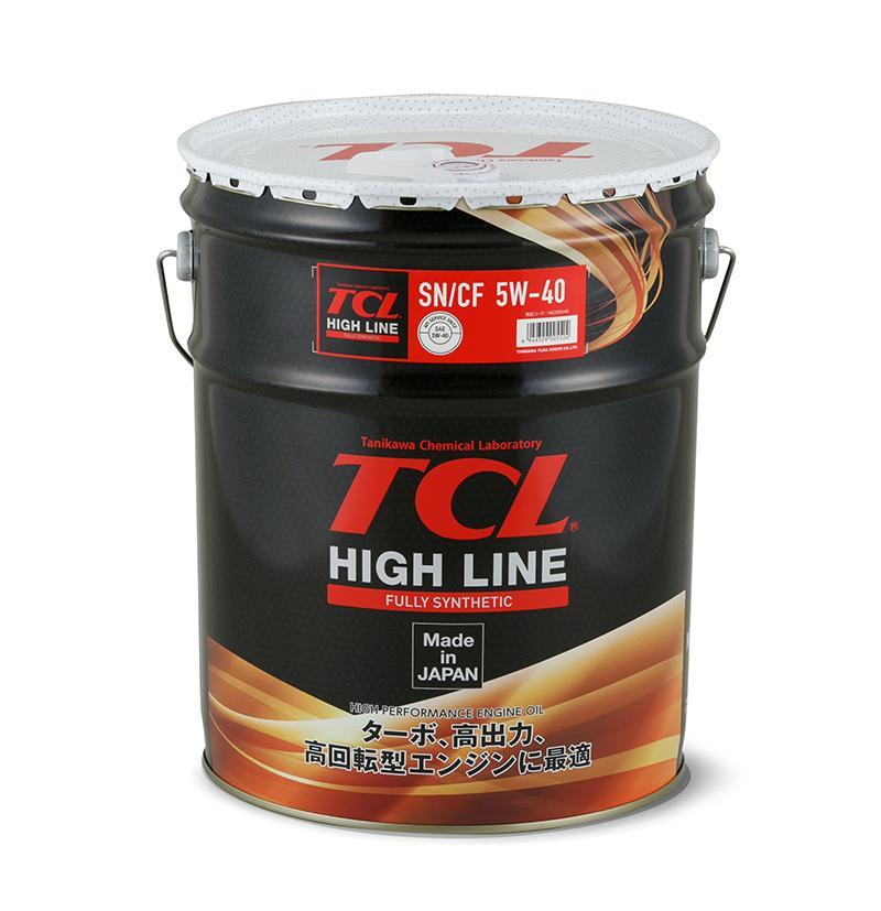 TCL H0200540   Масло моторное TCL HIGH LINE 5W40 (Синтетика, API SN/CF) 20L   Купить в интернет-магазине Макс-Плюс: Автозапчасти в наличии и под заказ