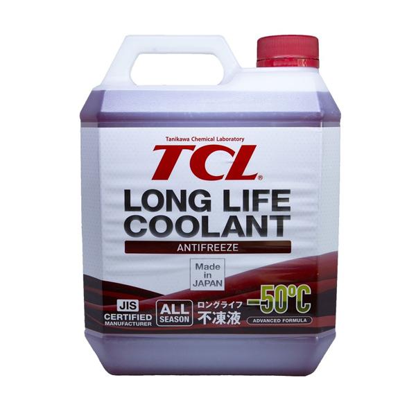 TCL LLC01212   Антифриз TCL Long Life Coolant RED -50° 4L   Купить в интернет-магазине Макс-Плюс: Автозапчасти в наличии и под заказ