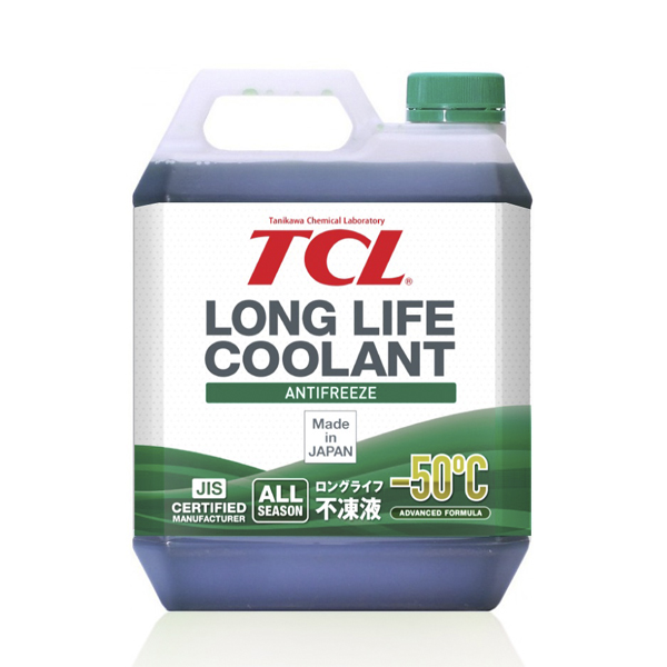 TCL LLC01229   Антифриз TCL Long Life Coolant GREEN -50° 4L   Купить в интернет-магазине Макс-Плюс: Автозапчасти в наличии и под заказ