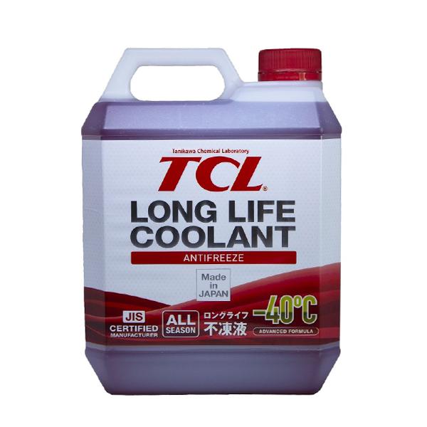 TCL LLC01236   Антифриз TCL Long Life Coolant RED -40° 4L   Купить в интернет-магазине Макс-Плюс: Автозапчасти в наличии и под заказ