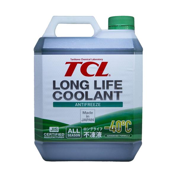 TCL LLC01243   Антифриз TCL Long Life Coolant GREEN -40° 4L   Купить в интернет-магазине Макс-Плюс: Автозапчасти в наличии и под заказ
