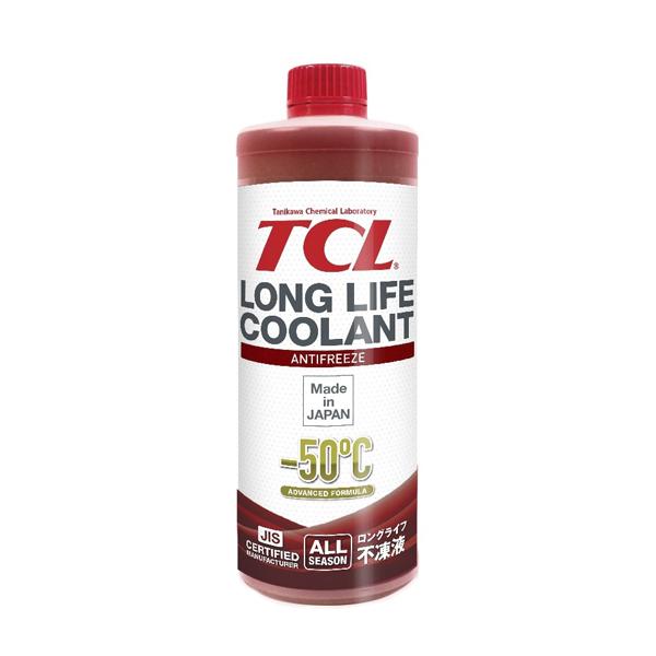 TCL LLC33145   Антифриз TCL Long Life Coolant RED -50° 1L   Купить в интернет-магазине Макс-Плюс: Автозапчасти в наличии и под заказ