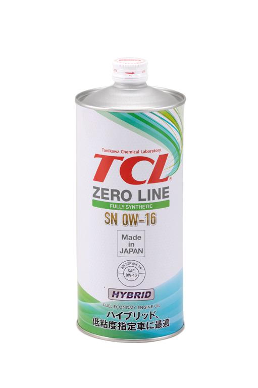TCL Z0010016   Масло моторное TCL Zero Line 0W16 (Синтетика, API SN) 1L   Купить в интернет-магазине Макс-Плюс: Автозапчасти в наличии и под заказ