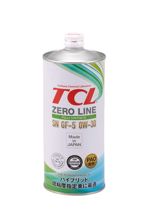 TCL Z0010030   Масло моторное TCL Zero Line 0W30 (Синтетика, API SN) 1L   Купить в интернет-магазине Макс-Плюс: Автозапчасти в наличии и под заказ