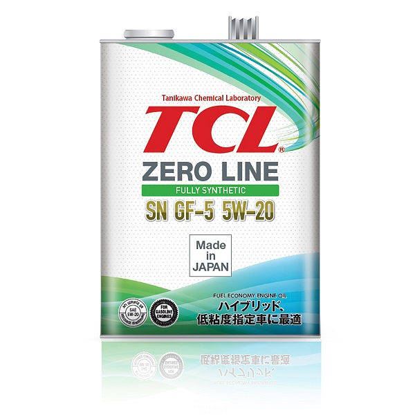 TCL Z0040520   Масло моторное TCL Zero Line 5W20 (Синтетика, API SN) 4L   Купить в интернет-магазине Макс-Плюс: Автозапчасти в наличии и под заказ