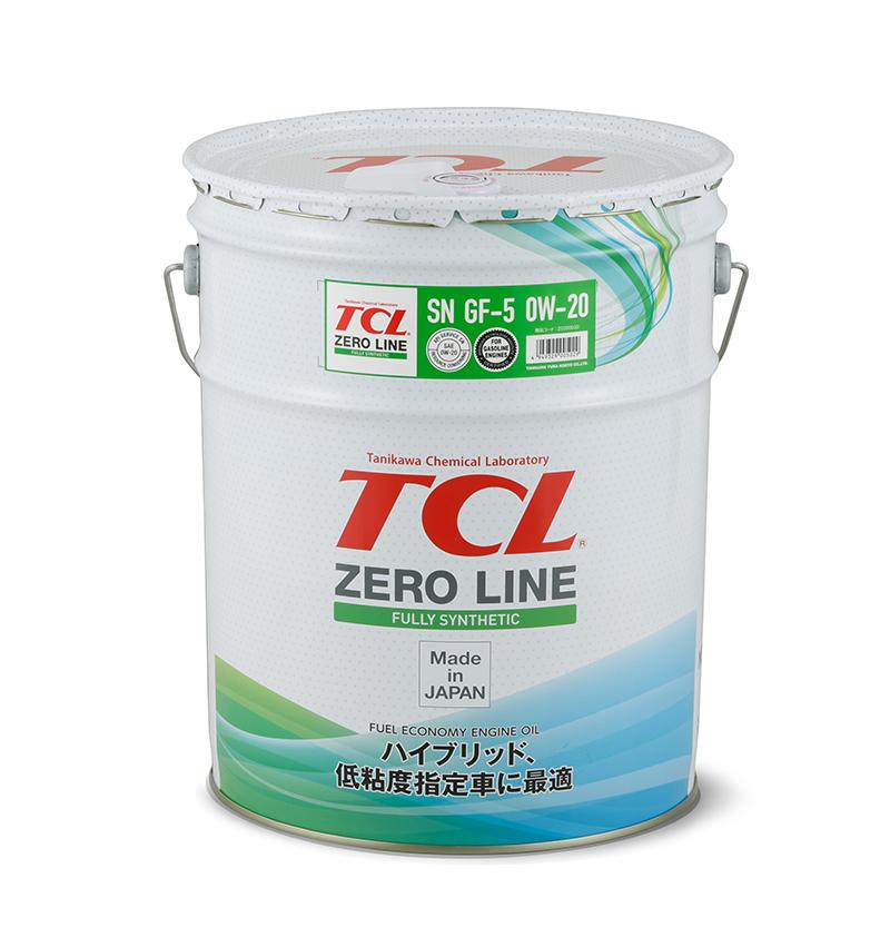TCL Z0200020   Масло моторное TCL Zero Line 0W20 (Синтетика, API SN) 20L   Купить в интернет-магазине Макс-Плюс: Автозапчасти в наличии и под заказ