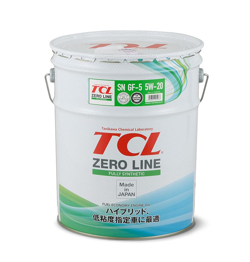 TCL Z0200520   Масло моторное TCL Zero Line 5W20 (Синтетика, API SN) 20L   Купить в интернет-магазине Макс-Плюс: Автозапчасти в наличии и под заказ