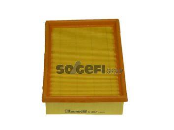TECNOCAR A307 | фильтр воздушный Ford Fiesta 1.6/1.8D 89-96 | Купить в интернет-магазине Макс-Плюс: Автозапчасти в наличии и под заказ