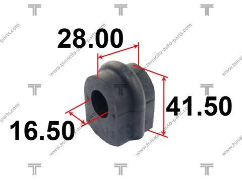 TENACITY ASBNI1003 | Втулка стабилизатора Tenacity (1413) ASBNI1003 | Купить в интернет-магазине Макс-Плюс: Автозапчасти в наличии и под заказ
