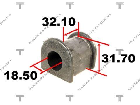 TENACITY ASBTO1002 | Втулка ТПУ | Купить в интернет-магазине Макс-Плюс: Автозапчасти в наличии и под заказ
