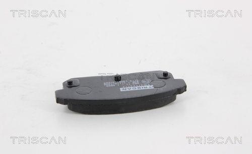 TRISCAN 811010551   Комплект тормозных колодок   Купить в интернет-магазине Макс-Плюс: Автозапчасти в наличии и под заказ
