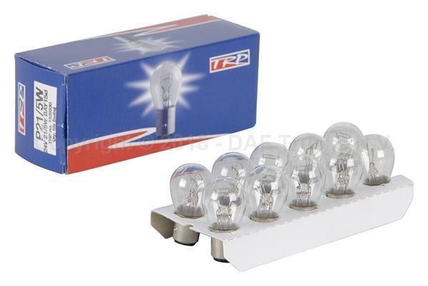 TRP 1528530   Лампа накаливания двухконтактная белая 24V 21/5W   Купить в интернет-магазине Макс-Плюс: Автозапчасти в наличии и под заказ