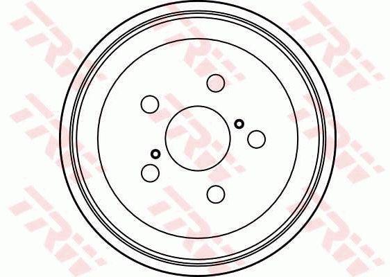 TRW DB4182 | DB4182 барабан тормозной!\ Toyota Carina all 92> | Купить в интернет-магазине Макс-Плюс: Автозапчасти в наличии и под заказ