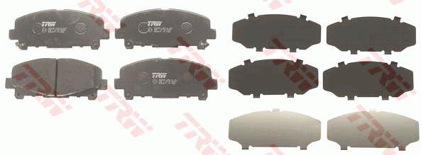 TRW GDB3477 | Колодки тормозные дисковые | перед | | Купить в интернет-магазине Макс-Плюс: Автозапчасти в наличии и под заказ