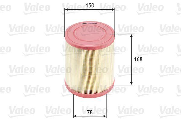 VALEO 585676 | Воздушный фильтр | Купить в интернет-магазине Макс-Плюс: Автозапчасти в наличии и под заказ