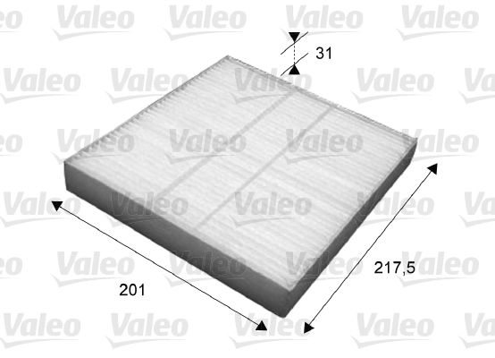 VALEO 715631 | Фильтр салона CITROEN: C Crosser 2.2HDi/NISSAN: X-Trail (2001>2003) 2.0i, 2.2Di,X-Trail (2004>2007) | Купить в интернет-магазине Макс-Плюс: Автозапчасти в наличии и под заказ