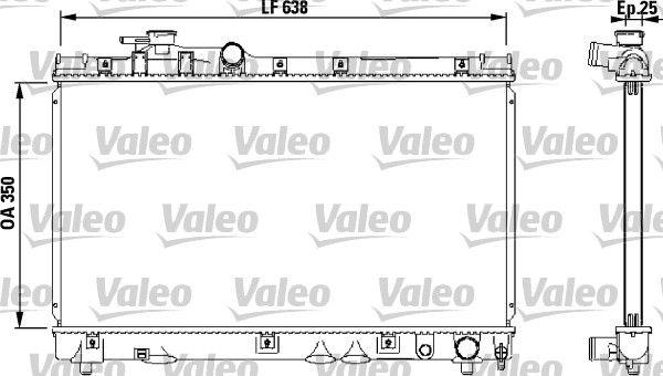 VALEO 732542 | Автодеталь | Купить в интернет-магазине Макс-Плюс: Автозапчасти в наличии и под заказ