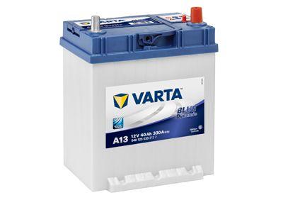 VARTA 5401250333132 | АКБ 6СТ-40 'Varta' Blue Dynamic (Чехия) (обр. пол.) (187x140x227) (330А) Азия/тонк.кл./бортик | Купить в интернет-магазине Макс-Плюс: Автозапчасти в наличии и под заказ