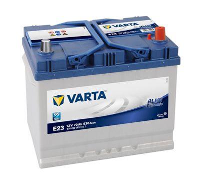 VARTA 5704120633132 | АКБ 'VARTA' 70 А/Ч 630А (EN) Blue Dynamic ~ обратная полярность (Азия)) | Купить в интернет-магазине Макс-Плюс: Автозапчасти в наличии и под заказ
