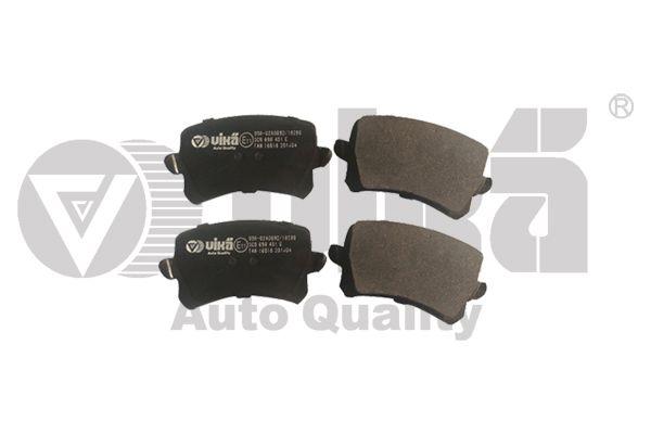 VIKA 66981056201 | Колодки тормозные задние, комплект | Купить в интернет-магазине Макс-Плюс: Автозапчасти в наличии и под заказ