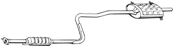 WALKER 16667 | Глушитель выхлопных газов конечный | Купить в интернет-магазине Макс-Плюс: Автозапчасти в наличии и под заказ