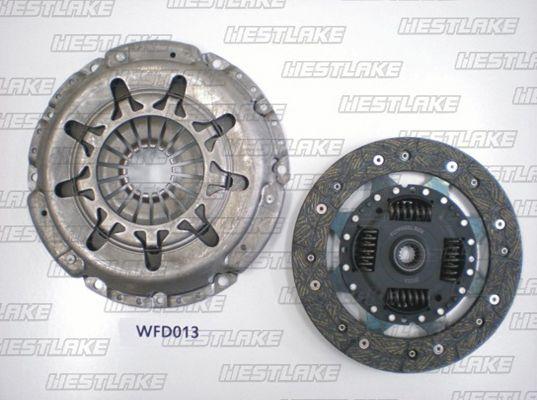 WESTLAKE WFD013 | Комплект сцепления (без подшипника) | Купить в интернет-магазине Макс-Плюс: Автозапчасти в наличии и под заказ
