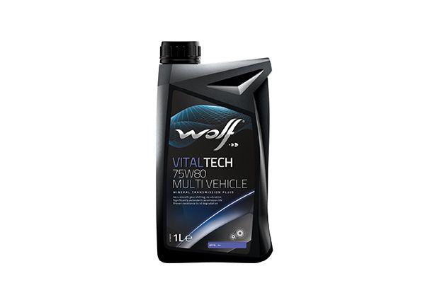 WOLF 8303609   Масло трансмиссионное минеральное 75W-80 VitalTech Multi Vehicle 1л   Купить в интернет-магазине Макс-Плюс: Автозапчасти в наличии и под заказ