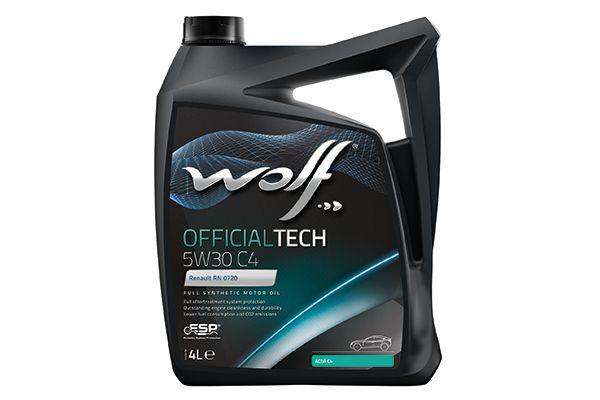 WOLF 8308413   Масло моторное Wolf Officialtech 5w30 C4 ACEA C4-12 (син) 4л (4шт)   Купить в интернет-магазине Макс-Плюс: Автозапчасти в наличии и под заказ