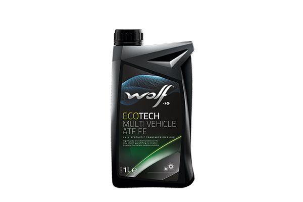 WOLF 8329449   Масло трансмиссионное WOLF ECOTECH MULTI VEHICLE ATF FE, 1л   Купить в интернет-магазине Макс-Плюс: Автозапчасти в наличии и под заказ