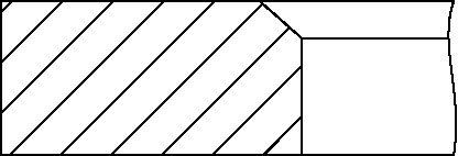 YENMAK 9109285000 | Кольца ДВС поршневые (к-т на 1 поршень) | Купить в интернет-магазине Макс-Плюс: Автозапчасти в наличии и под заказ
