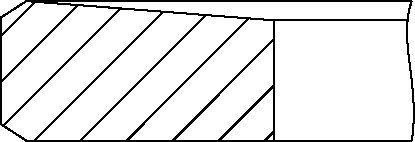 YENMAK 9109537050 | 91,50 mm Кольца поршневые 2,5x2,0x3,0_+0,5 (ком-т ) | Купить в интернет-магазине Макс-Плюс: Автозапчасти в наличии и под заказ